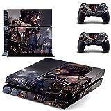 Playstation 4 + 2 Controller Aufkleber Schutzfolie Set - Call of Duty Advanced Warfare