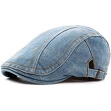 Xiang Sombrero de vaquero de la caída de la primavera Sombreros de la boina de Inglaterra del estilo de las boinas para los hombres o la tapa de las mujeres