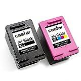 CSSTAR Remanufacturado Cartucho de Tinta Reemplazo para HP 301 XL 301XL para DeskJet 2540 1510 3050 2050 1512 2510 Envy 4500 4504 OfficeJet 4636 2620 Impresora - Negro, Color