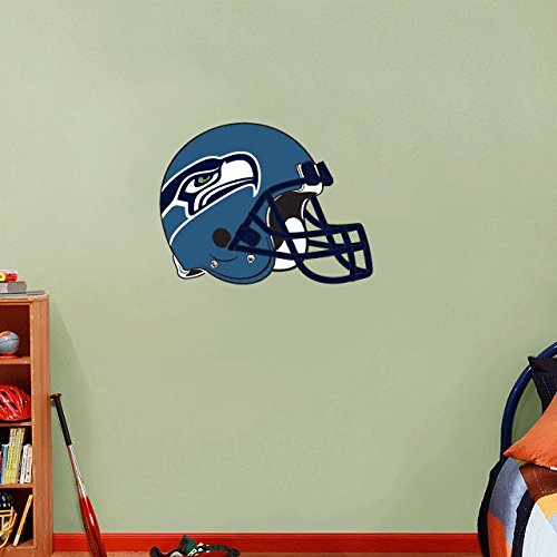 lunaprint Seattle Seahawks NFL Football Sport Home Decor Art Wall Vinyl Sticker 63 x 48 cm