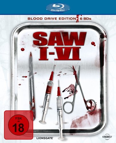 Saw I-VI (Blood Drive Edition) [Blu-ray] [Limited Edition]