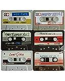 Horror-Shop Vintage Blechdose Kassette 1 St. als Mitbringsel oder Deko für die 80er Jahre Motto Party