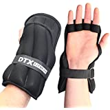 DTX Fitness Weighted Training Gloves - 3kg, 4kg & 5kg Sizes