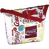 Coca-Cola EZetil Kühltasche Fun, Isoliertasche für die kühle Lagernung von Lebensmitteln und Getränken Beim Camping und Picknick, auf Reisen Oder Beim Einkauf, Mehrfarbig, 20 L