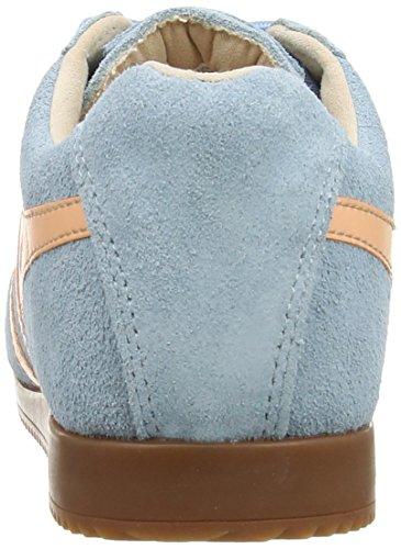 Gola Synergy CLA350, Baskets Mode Femme Bleu (Blue/Coral)