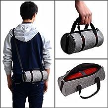 Zhuhaixmy portátil llevar a mano funda protectora bolso bolsa Case Cover Bag mochila bolsa de hombro backpack para JBL Pulse 2/Charge 3 Logitech UE Megaboom Bluetooth Speaker/Makeup Purse Phone Gris