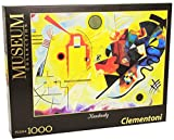 Clementoni - 39195 - Museum Collection Puzzle - Kandisky, Giallo Rosso e blu - 1000 Pezzi