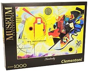 Clementoni-39195 Los Pingüinos De Madagascar Puzzle Museum Handinsky 1000 pzas, Multicolor (391950)