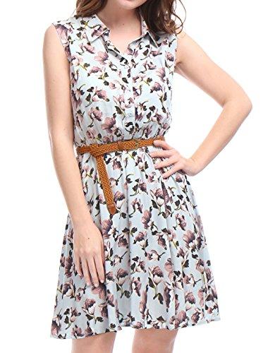 allegra-k-mujer-vestido-camisero-estampado-sin-mangas-con-cinturon-floral-blanco-m