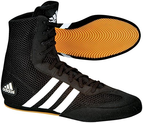 Adidas Box Hog Boxstiefel, Schwarz, schwarz