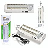#7: Citra Dp LED Rechargeable Emergency Light- (White) With Inbuilt Solar Panel Charge Port