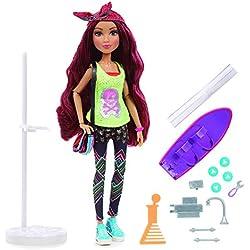 Project MC2 - Camryn Coyle y su skateboard, muñeca con experimento (Famosa 700013212)