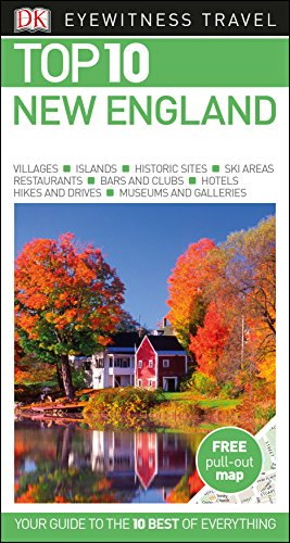 New England Top 10. Eyewitness Travel Guide (DK Eyewitness Travel Guide) por Vv.Aa.