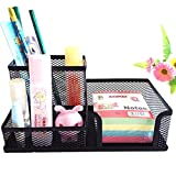 #10: R Dabhi Metal Mesh Multi Functional Pen Stand