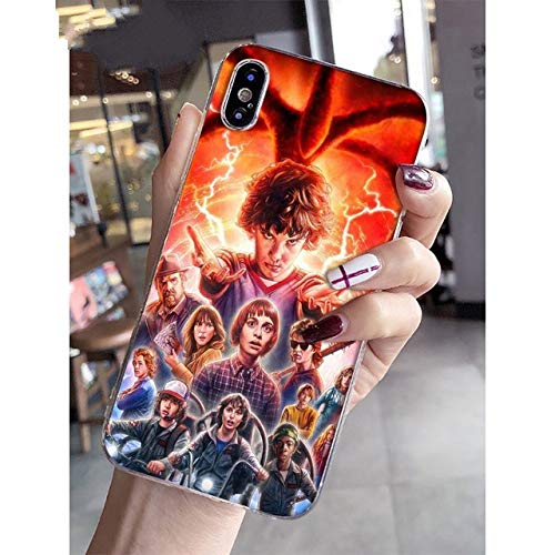 NINESH Stranger Things Colorful Cute Phone Accessories Case for Apple iPhone 8 7 6 6S Plus X XS MAX 5 5S SE XR Mobile Cases,A8,for iPhone 6s Plus