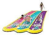 Yool Triple Racing Wasserrutsche 630 cm Spielzeug Riesigen Sprinkler Track, Urlaub Line up Spielzeug