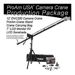 ProAm USA DVC200 Support grue pour appareil photo 2,4-3,6m