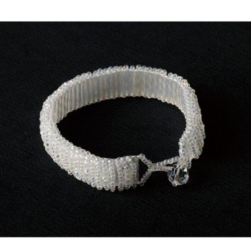 TOHO beads stitch Accessory BSA-3 Snow white bracelet (japan import)