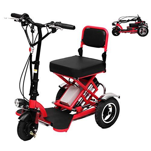 Dp-chair Power Rollstuhl, Luftfahrt Reisen sichere Heavy Duty Mobility Aids Stuhl, transportfreundliche leichte Klappe Elektroroller,60km -