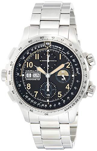 Hamilton Reloj de Hombre automático 45mm Correa y Caja de Acero H77796135