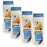 Balea Family Duschgel Frische Energie mit fruchtiger Duft, 4er Pack (4 x 500ml Flasche)