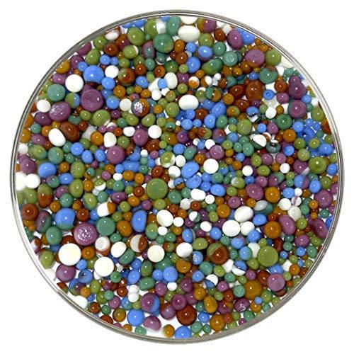 New Hampshire Craftworks Fine Art Designer Collection Frit Balls 90COE aus Bullseye Glas -