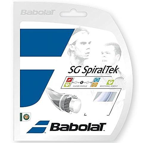 Babolat Sg Spiraltek String Set - Blue, 1.25 Mm