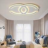 Renshengyizhan@ AC85-265V neue moderne LED-Chips Deckenleuchten für Wohnzimmer Schlafzimmer plafoniera lampade Kreativität Deckenleuchte, 450X300mm