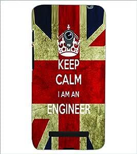 PRINTSWAG ENGINEER SLOGAN Designer Back Cover Case for ASUS ZENFONE 5 A501CG