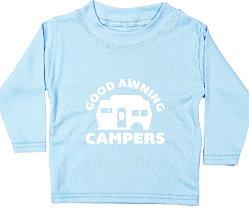 Hippowarehouse Good Awning Campers Baby Unisex t-Shirt Long Sleeve
