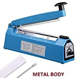 Kairos 8' Hand Impulse Sealer Heat Seal Machine Poly Sealing Plastic Bag Element Kit