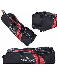 Spalding sac de golf jusqu'à 10 ich bag couleur : noir/rouge
