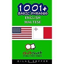 1001+ Basic Phrases English - Maltese