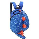 Kinder Rucksäcke Kleinkind Schule Taschen Dinosaurier Kinder Daypacks Jungen Mädchen Anti verloren (Blau)