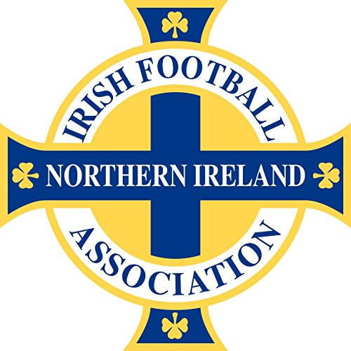 Northern Ireland Football Team FA - Crest Logo Wall Poster Print - UEFA Euro 2016-43cm x 61cm / 17 Inches x 24 Inches A2 -