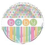 Pastel Baby Shower Foil Balloon (18in)