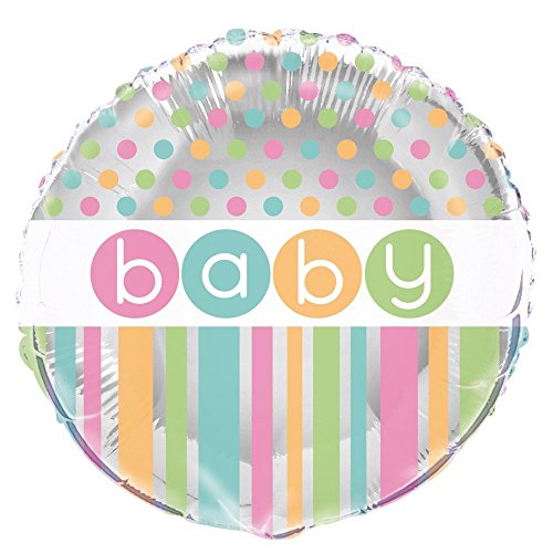 Unique Party Supplies Pastell Babyparty-Zubehör