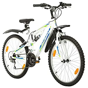 Multibrand, PROBIKE SPEED 24, 24 Zoll, 330mm, FSP Mountainbike, 18 Gang,...