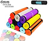 Xn8 Sports Yoga Mat 6 mm Soft Non Slip Extra Thick Abs Exercise