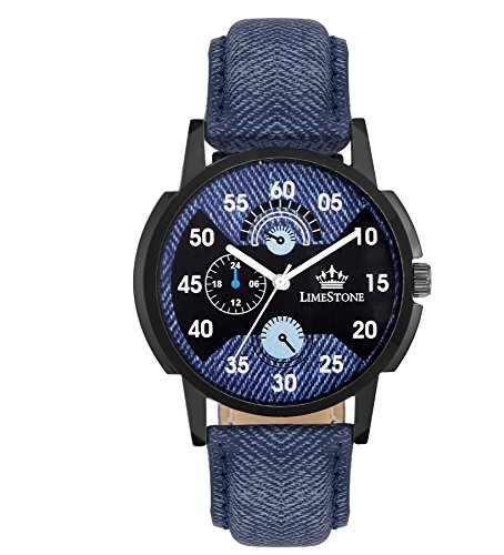 Limestone Analogue Multi-Colour Dial Men's Watch -Ls2634