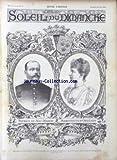 SOLEIL DU DIMANCHE [No 12] du 22/03/1896 - PATRICE DE MAC-MAHON ET MARGUERITTE D'ORLEANS.