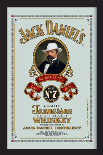 J & B großen Spiegel (Jack Daniels)