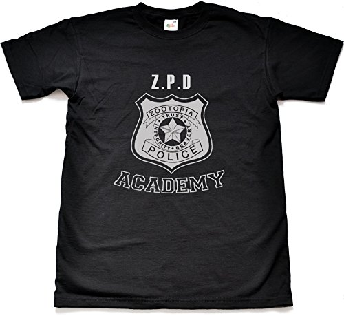 Teamzad ZPD Police Academy Black T Shirt