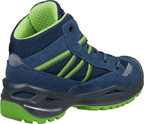 Lowa Simon Ii Gtx Qc, Scarpe da Arrampicata Unisex – Bambini blu verde