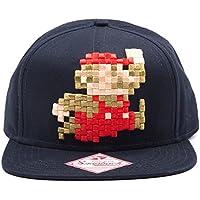 Nintendo Baseball Cappellino 3D pixel embroidery Mario Bioworld