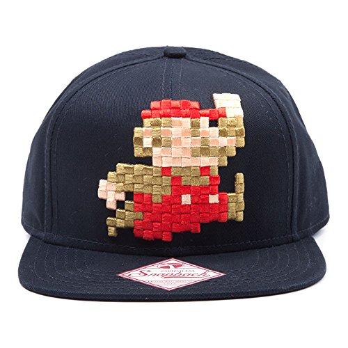 ¿Hay algo más retro que el maravilloso Mario en su estilo pixelado? Nos encanta este snapback aquí en Retro Styler HQ. Con el brillante y audaz Super Mario sentado sobre un maravilloso snapback negro que contrasta, este gorro es el toque final perfec...