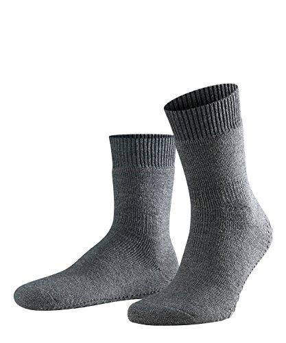 FALKE Homepads Kurzstrumpf 16500 Unisex - Erwachsene Str?mpfe & Strumpfhosen/Str?mpfe & Socken/Socken, Gr. 47/50 Grau (anthra. mel 3180) - Warme Gerippte Strumpfhose