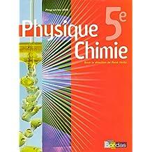 Physique Chimie : Vento 5e * Manuel de l'élève