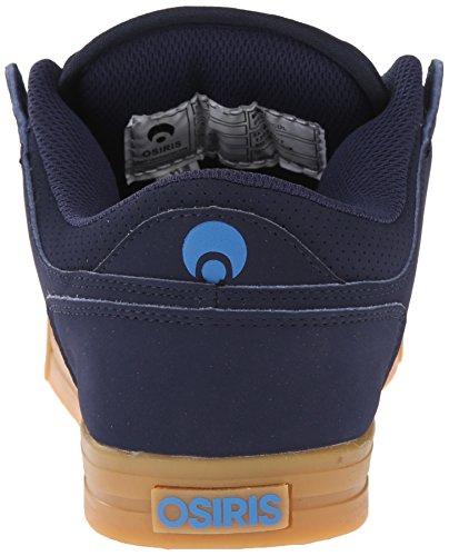 Chaussure Osiris Protocol Burgundy-Noir-Gum Bleu Fonce