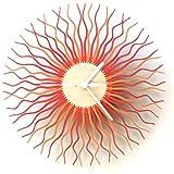 Radium - zeitgenössische elegante Wanduhr aus Sperrholz